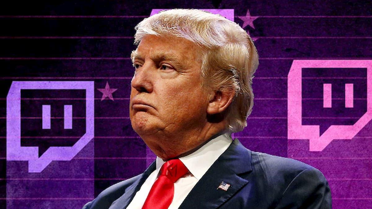 Дональда Трампа навсегда забанили в Twitch