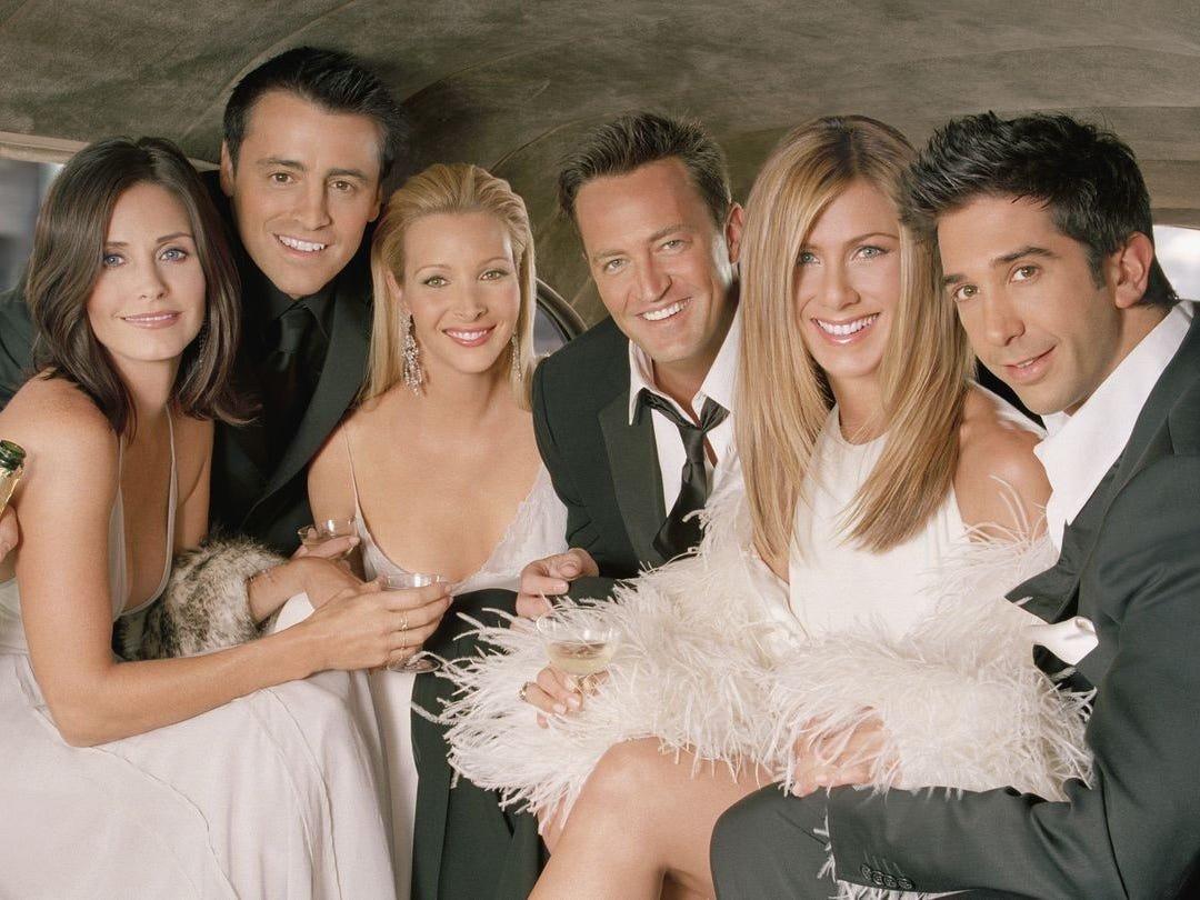 Специальный эпизод «Друзей» может выйти на запуске HBO Max