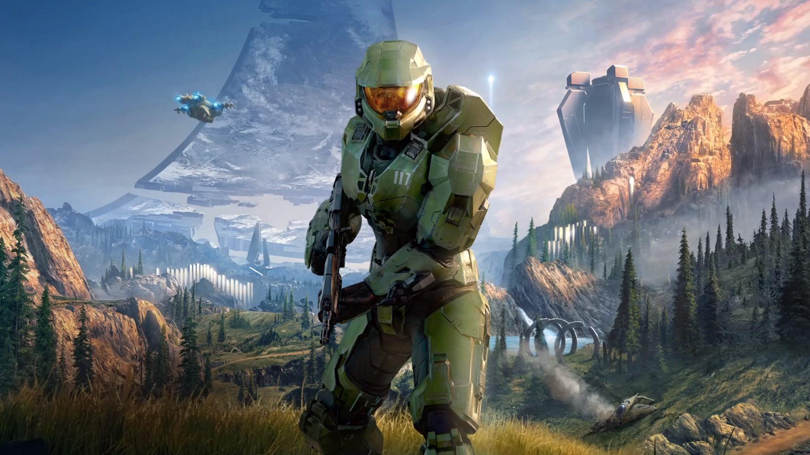 С возвращением, Чиф: ключевой постер и обложка Halo Infinite