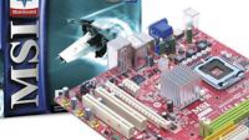 Первая материнка MSI для Intel с разъемом HDMI