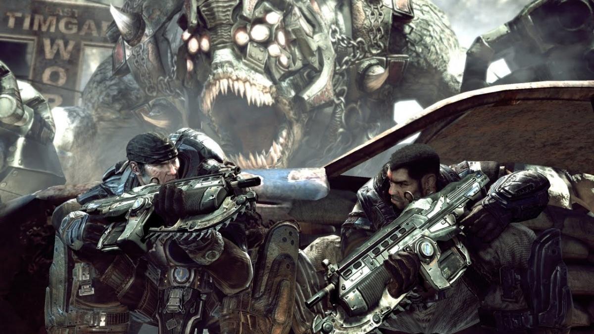 Покупатели обновленной Gears of War получат всю серию в подарок