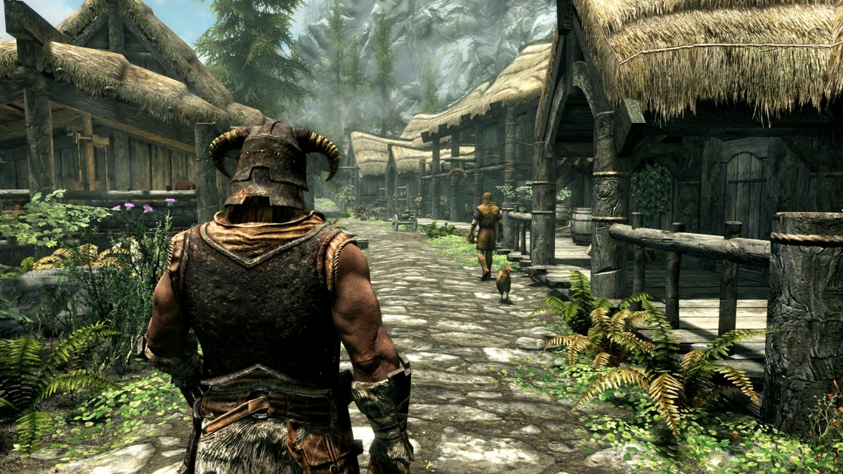 Локации Fallout и The Elder Scrolls не находятся в одной вселенной