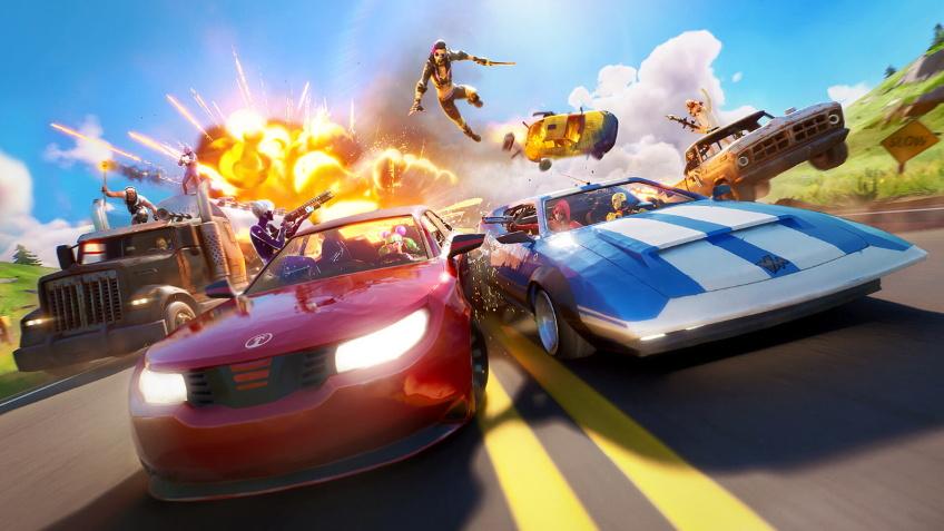 В Fortnite добавили возможность водить машины
