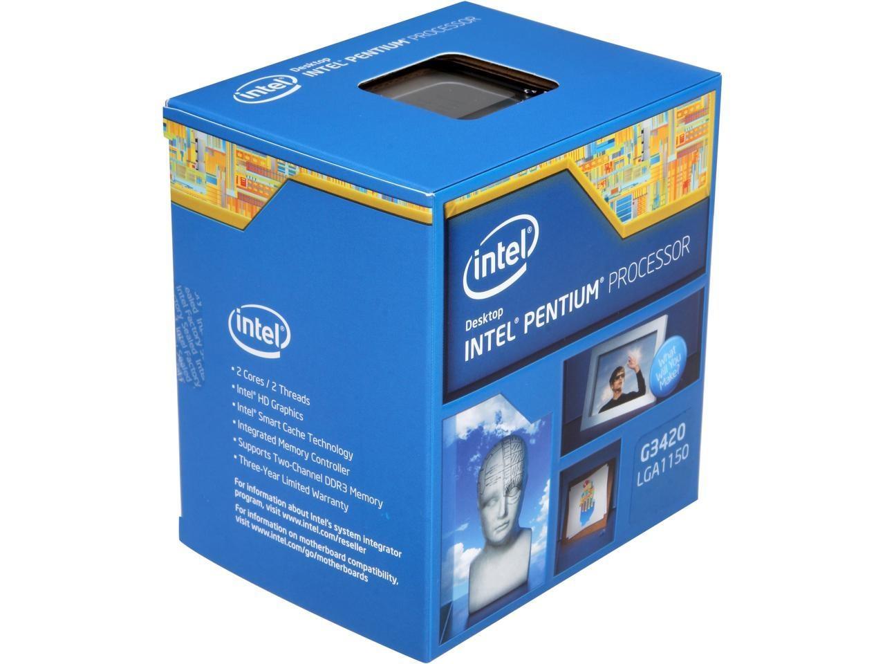 В ассортименте Intel замечен старый Pentium с техпроцессом в22 нанометра