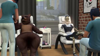 Авторы The Sims4 решили пересмотреть контент набора «День спа»