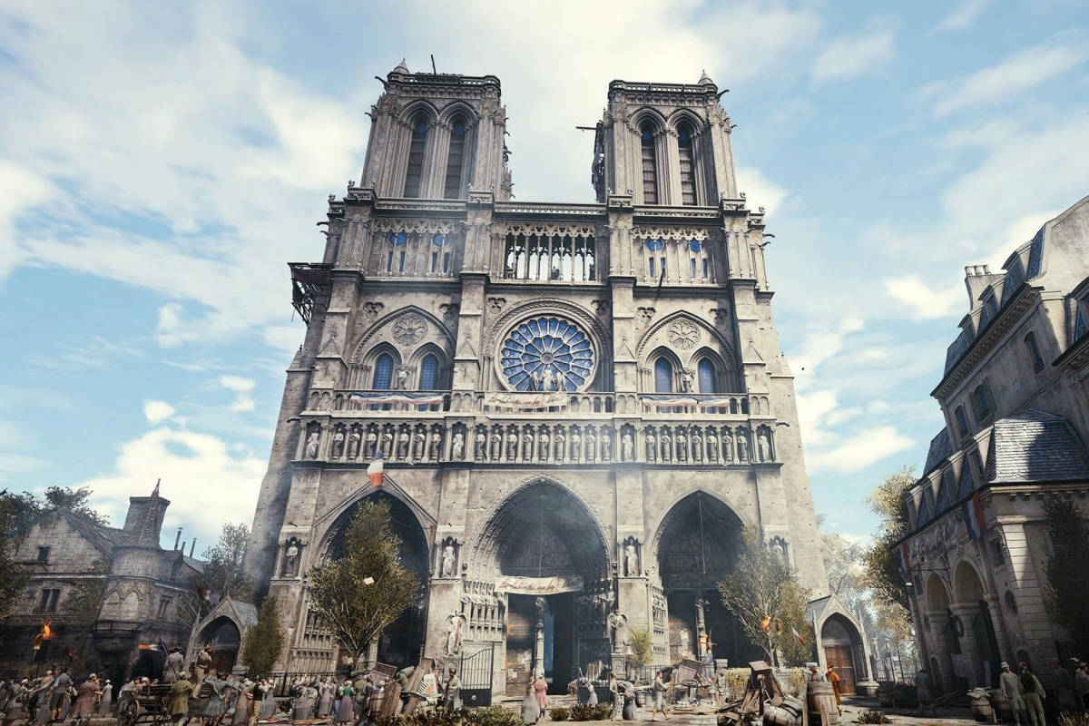 В свете трагических событий в Париже Ubisoft раздаёт Assassin's Creed Unity на РС