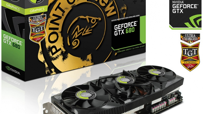 Point of View анонсировала 4 Гб видеокарту на базе GeForce GTX 680