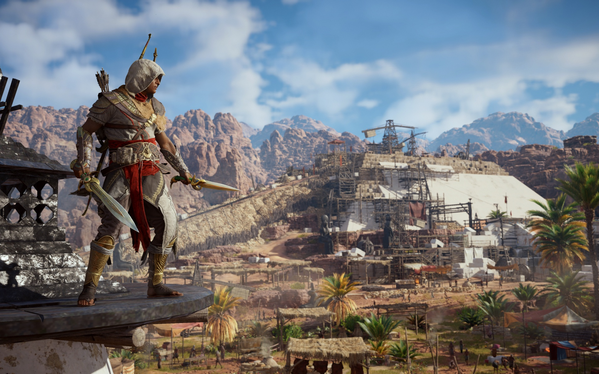 Журналисты сравнили производительность Assassin's Creed Origins с Denuvo и без неё