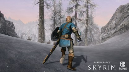 Журналисты IGN сыграли в Skyrim на Nintendo Switch