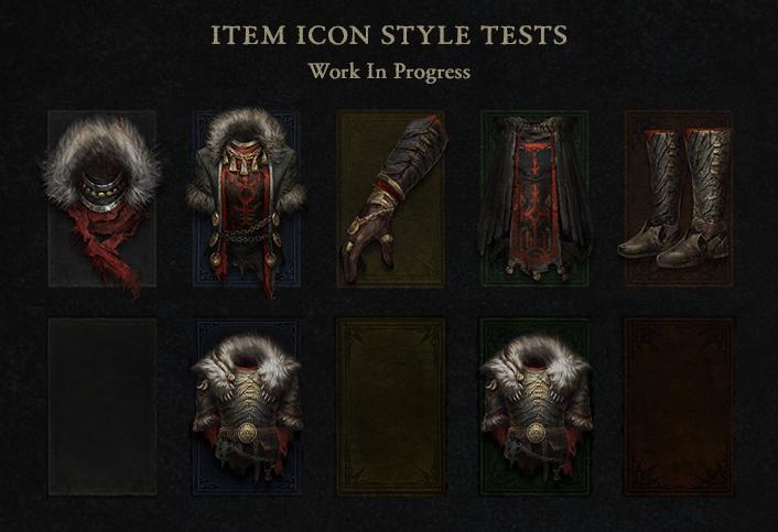 Новые иконки экипировки