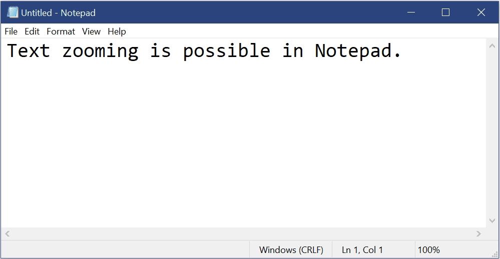 Обновлённый интерфейс программы