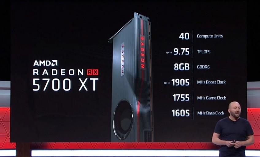 Видеокарты AMD Radeon RX 5700 XT и RX 5700 представлены