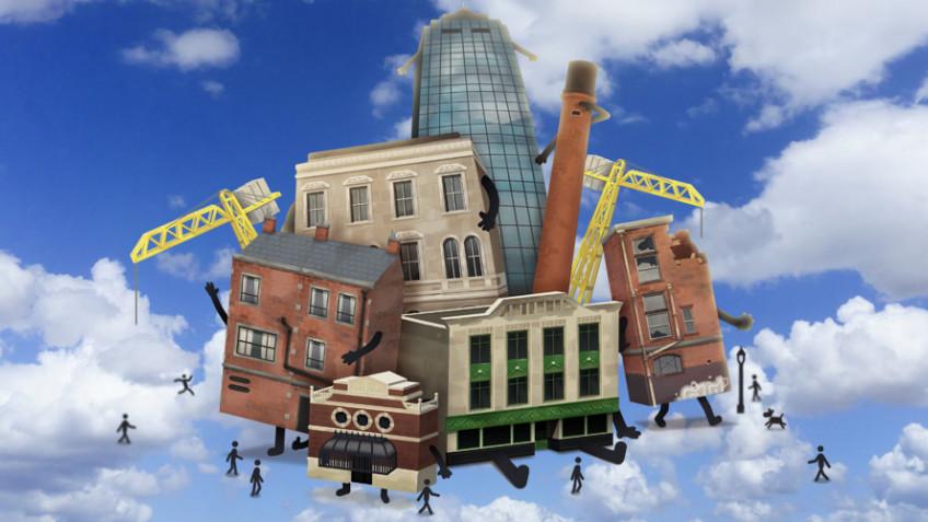 Необычный симулятор Buildings Have Feelings Too выходит в марте