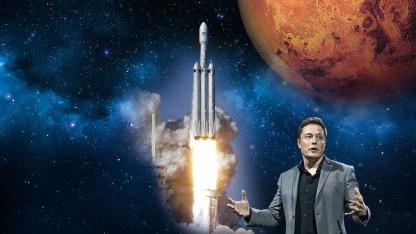 Илон Макс полетит в космос на чужом звездолёте