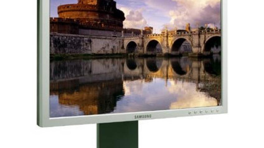 Новый большой монитор Samsung