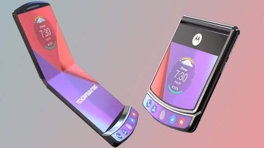 Складной смартфон Motorola Razr выйдет в продажу6 февраля