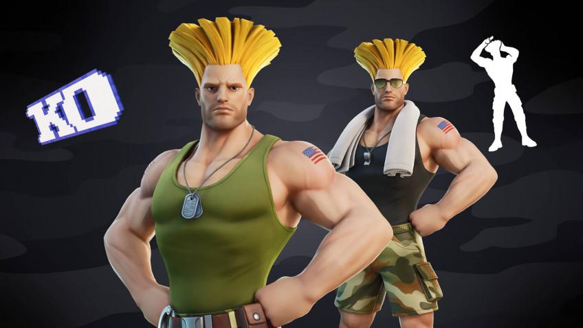 Экипировки Кэмми и Гайла из Street Fighter добавят в Fortnite на этой неделе1