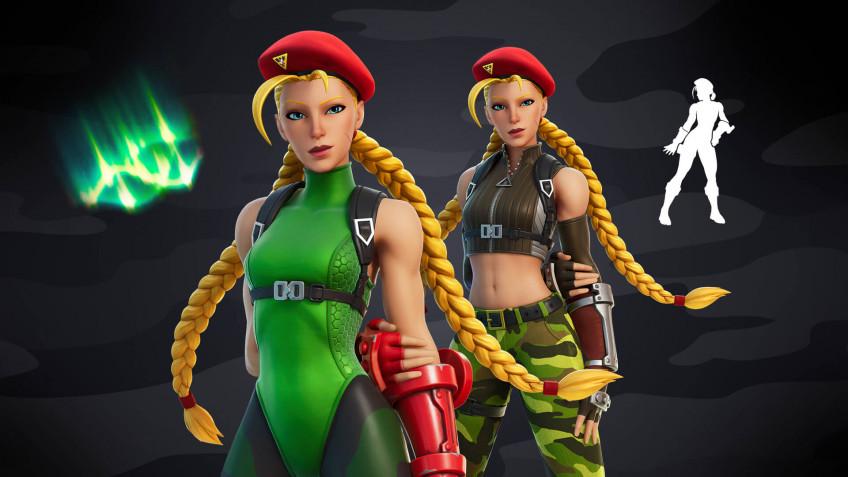 Экипировки Кэмми и Гайла из Street Fighter добавят в Fortnite на этой неделе2