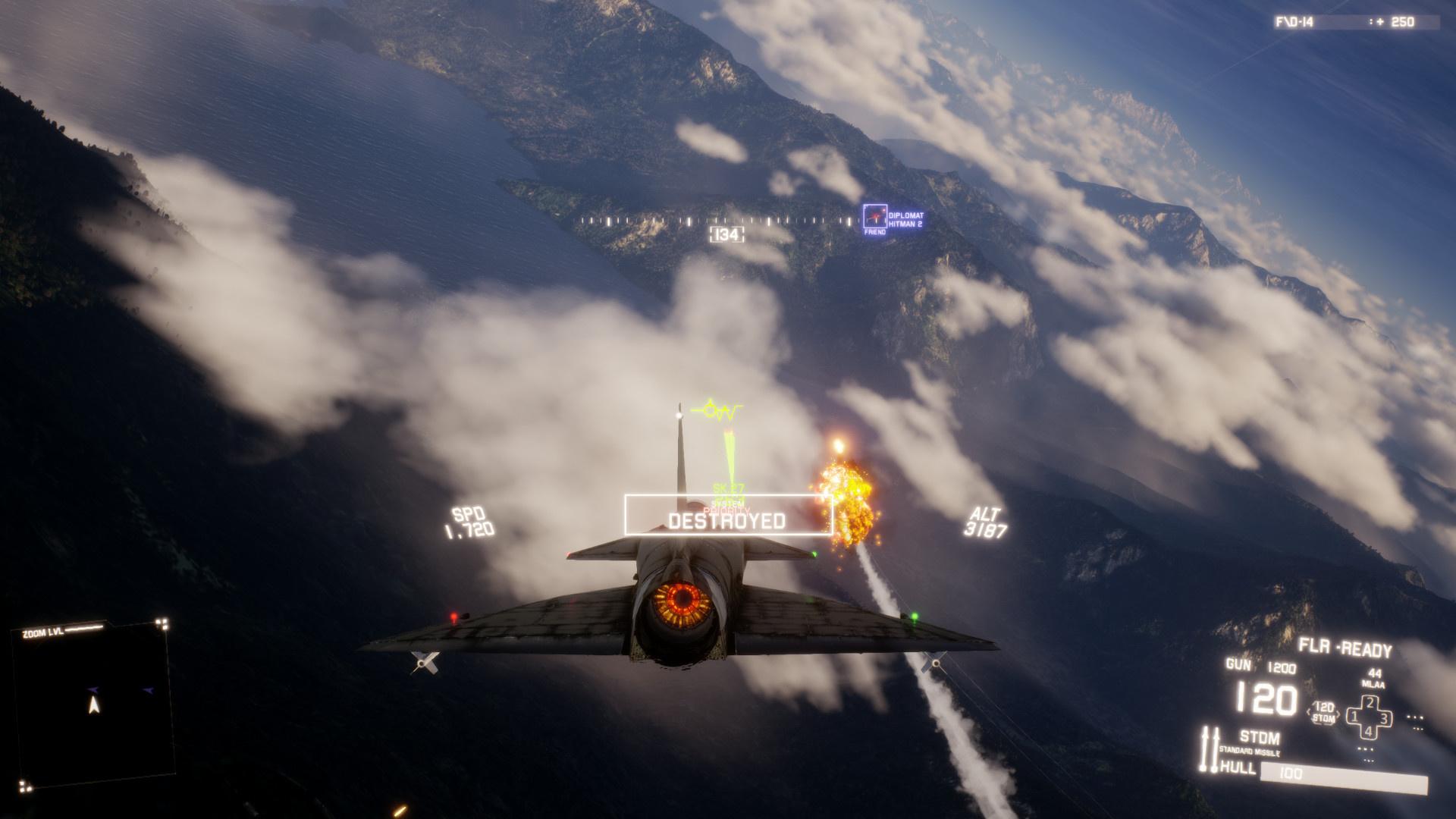 Воздушные бои в Project Wingman начнутся1 декабря