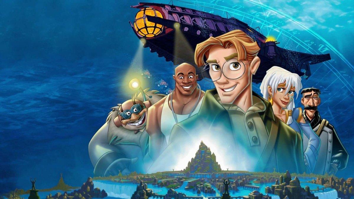 Слух: Disney разрабатывает ремейк мультфильма «Атлантида: Затерянный мир»