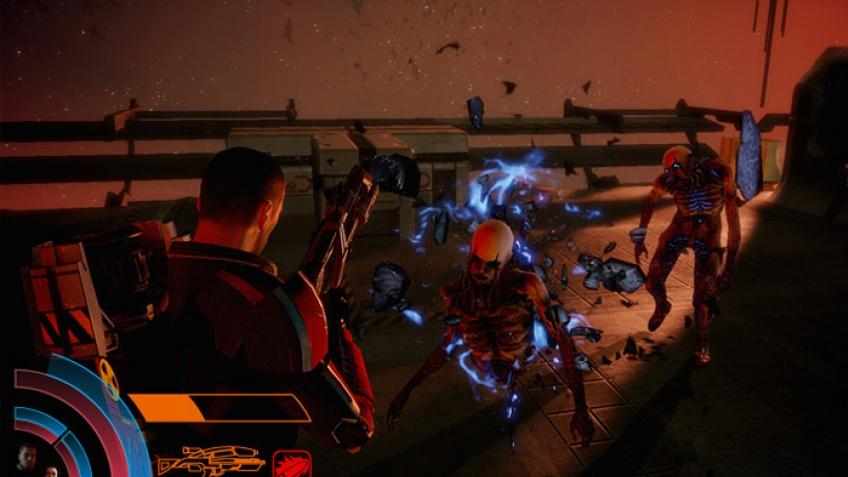 Mass Effect3 выбирает интерфейс