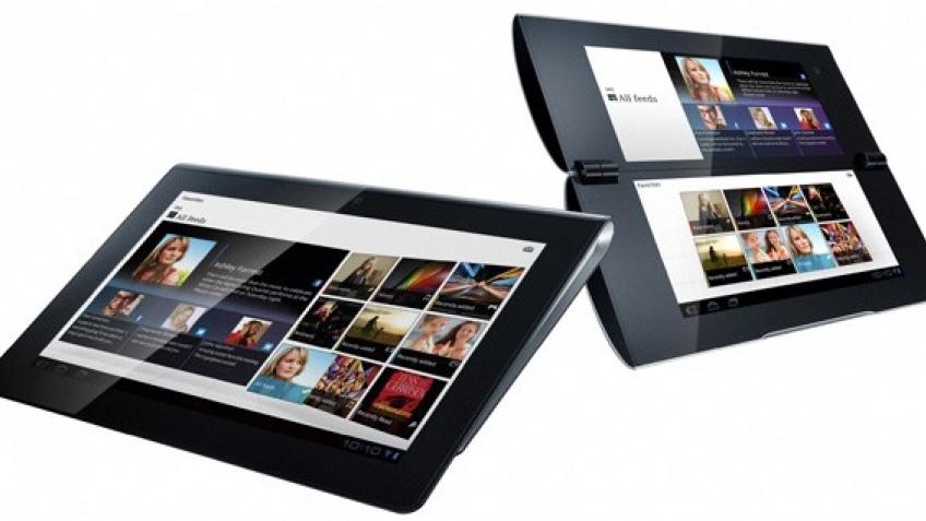 Sony официально представила необычные планшеты S1 и S2