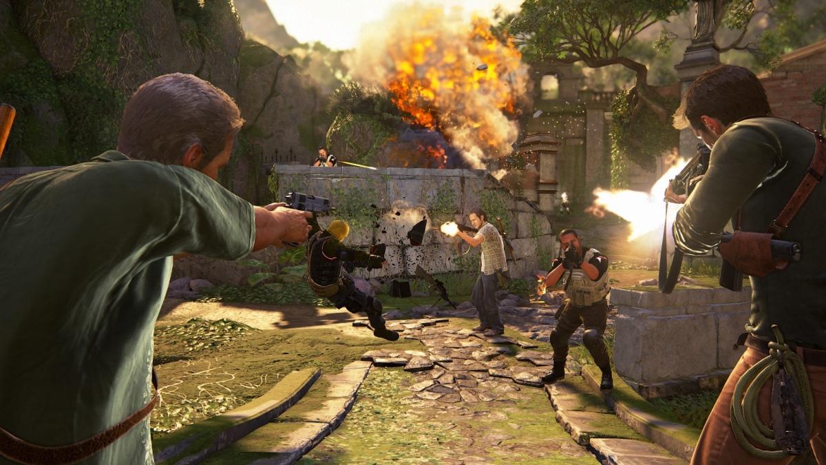 Кооперативный режим спешит в Uncharted4