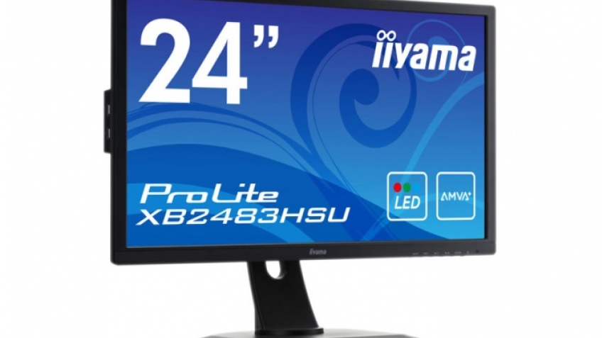 iiyama ProLite XB2483HSU: 24-дюймовый монитор на базе AMVA+