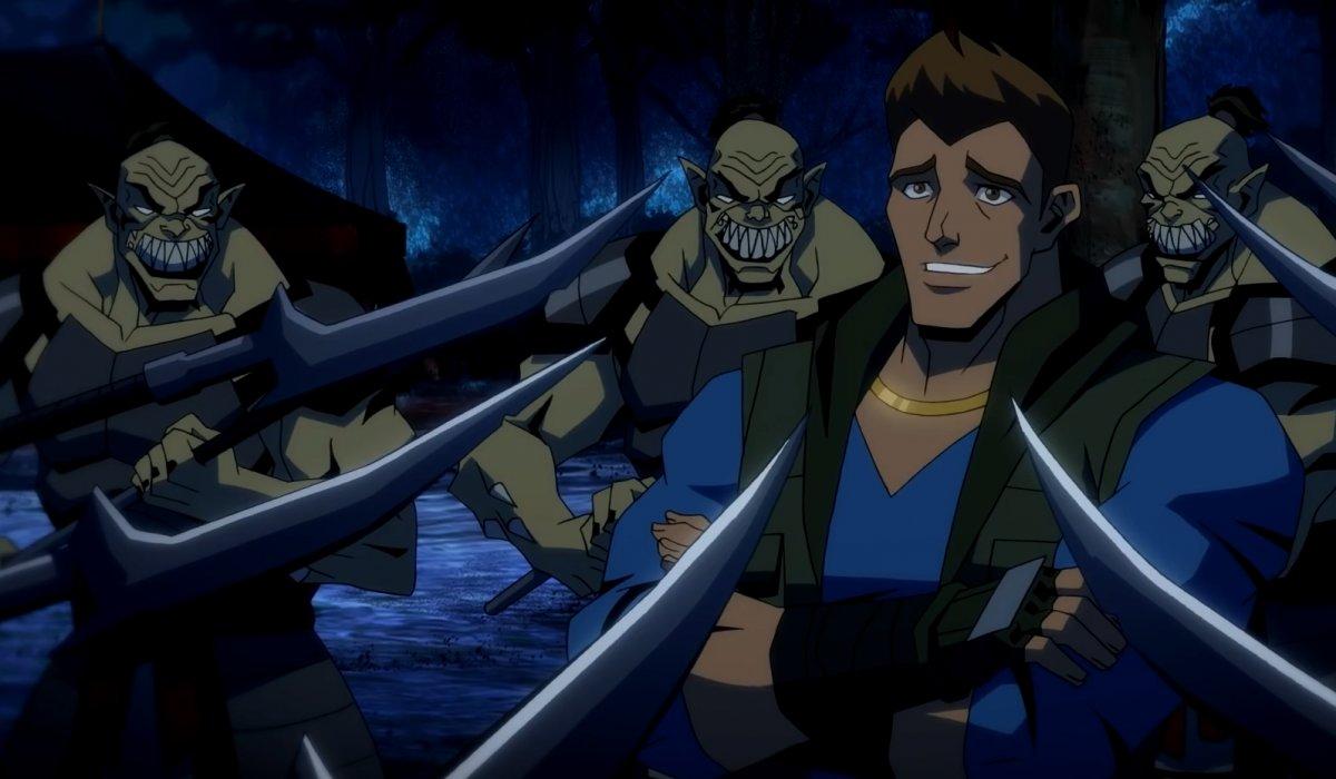 Свежий ролик Mortal Kombat Legends: Battle of the Realms посвятили Джонни Кейджу