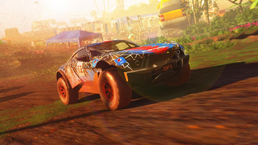 DiRT5 стала первой игрой, которую показали на Xbox Series S