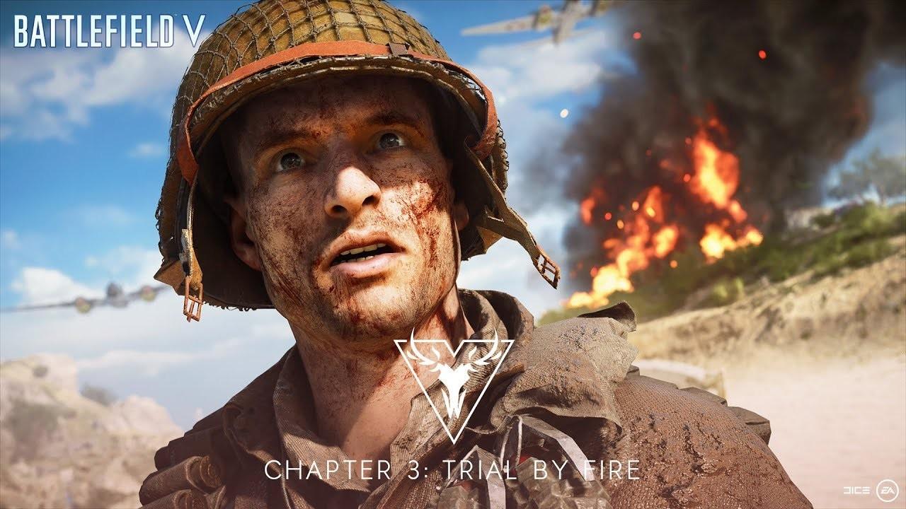 Battlefield V: трейлер новой карты — «Меркурий» появится 30 мая