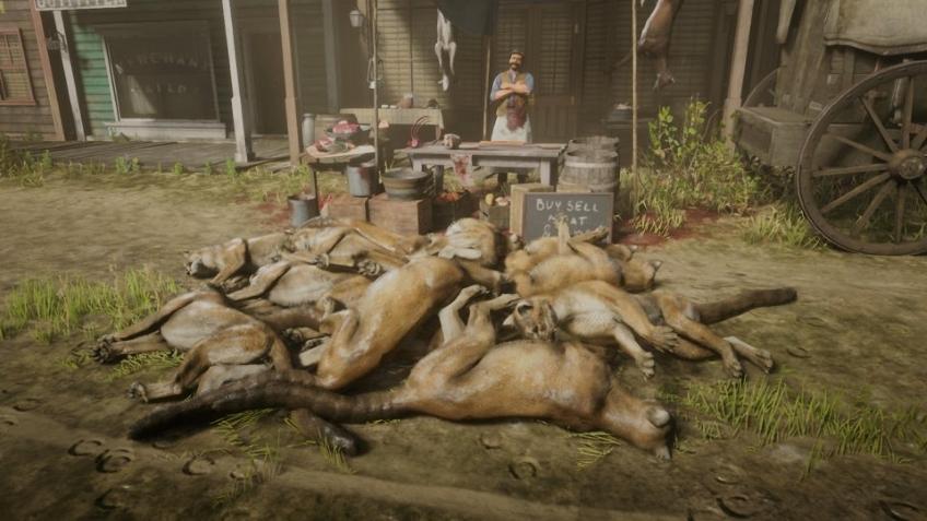 В Red Dead Online зарабатывают бесконечное количество денег, клонируя пум