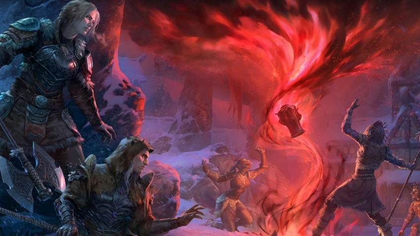 «Мрачная буря» отправит игроков The Elder Scrolls Online в «Нечестивую могилу»