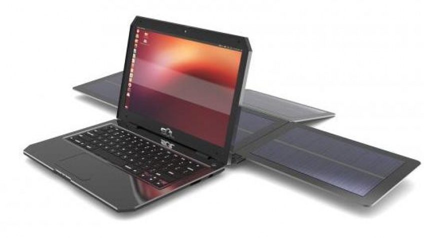 Анонсирован ноутбук Sol с солнечной батареей
