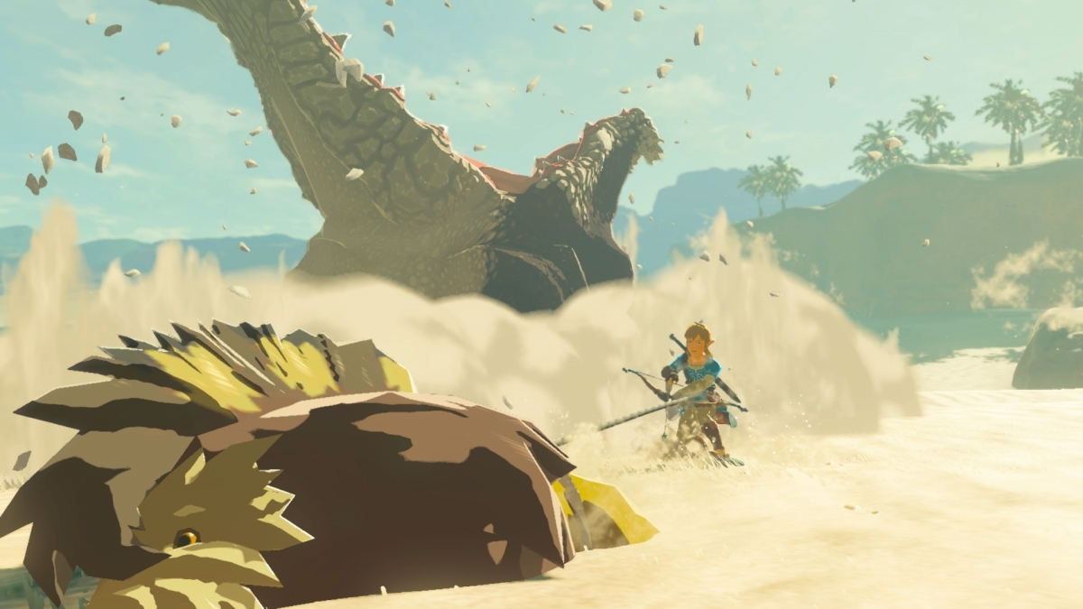 Главным героем второго дополнения для The Legend of Zelda: Breath of the Wild останется Линк