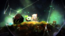 Последняя девочка и маленький робот в релизном трейлере Void Terrarium