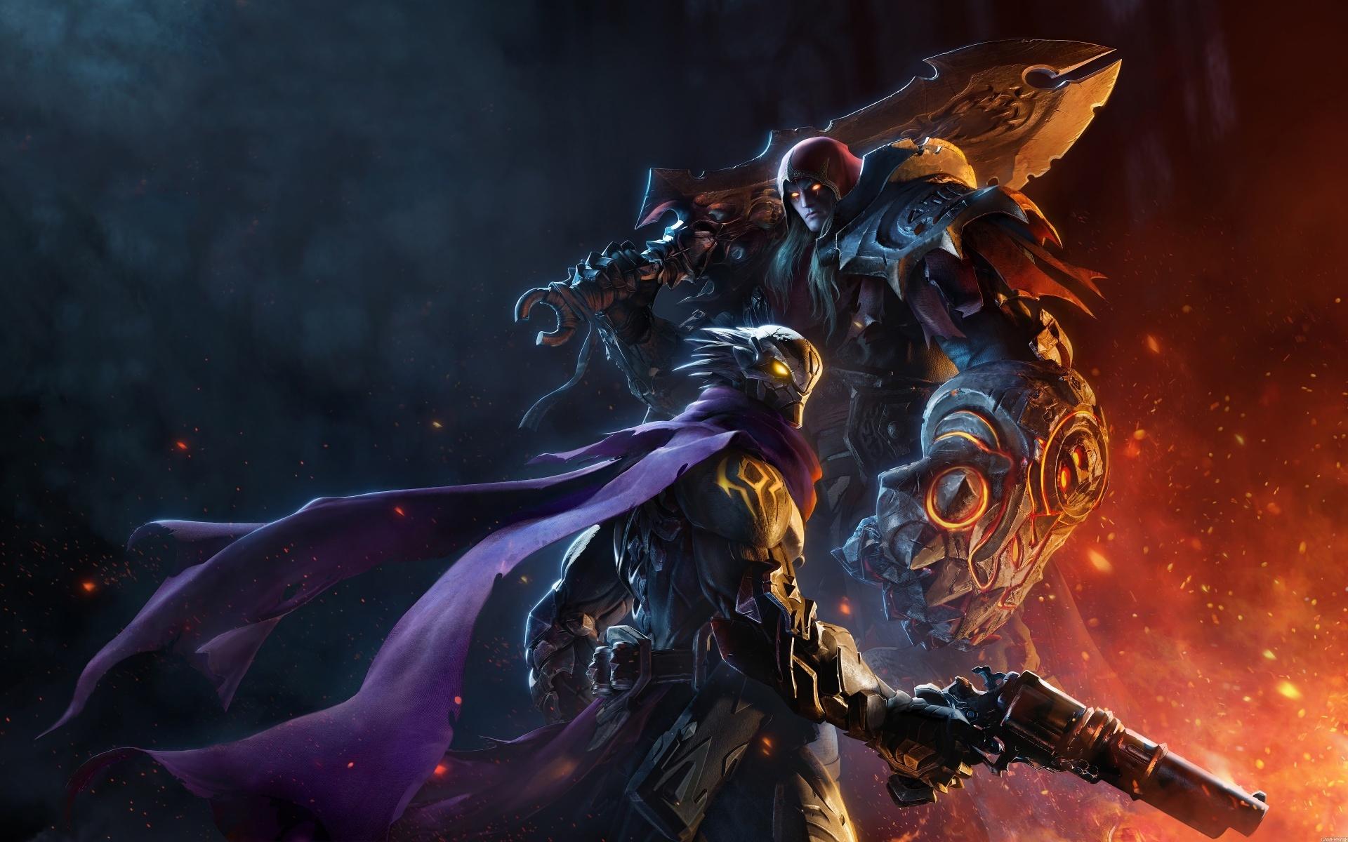 В свежем трейлере Darksiders Genesis показали умения Войны и Раздора