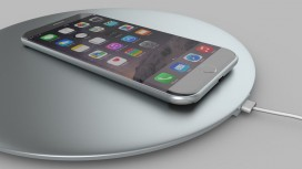 СМИ: новый iPhone получит быструю беспроводную зарядку