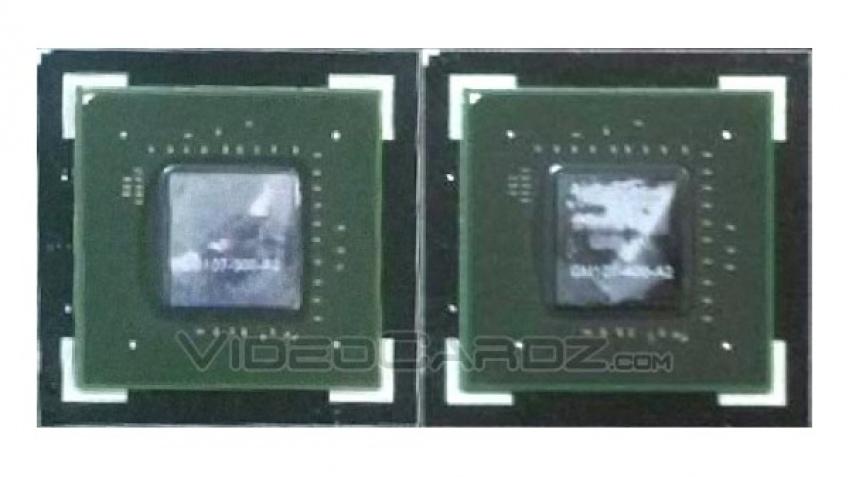 Фотография графического процессора GM107 Maxwell