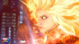 В сети появилось новое геймплейное видео Marvel vs. Capcom: Infinite