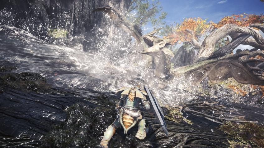Capcom выпустила первый патч для PC-версии Monster Hunter: World