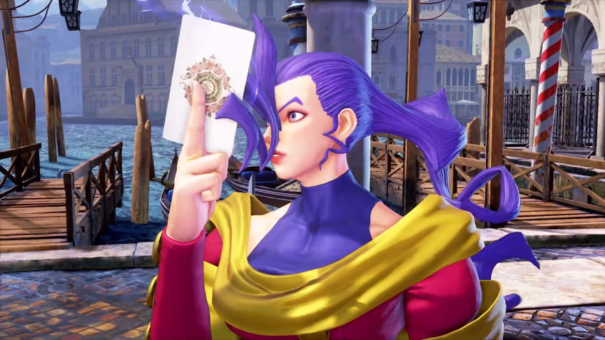 Новый дополнительный боец Street Fighter V, Роза, получила свежий трейлер