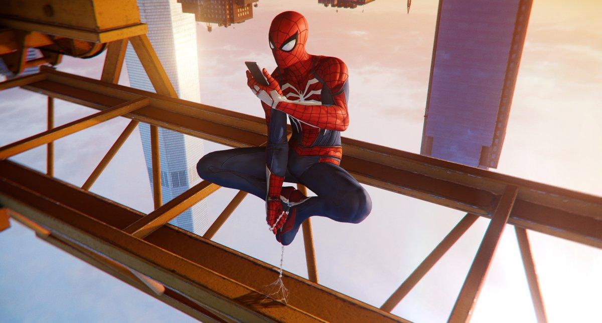 Картинка аттракциона человек паук