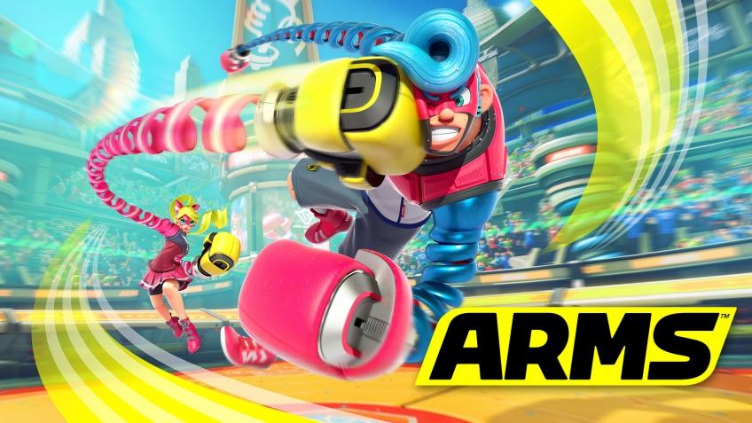 Обновление для Arms добавит значки и следующего персонажа
