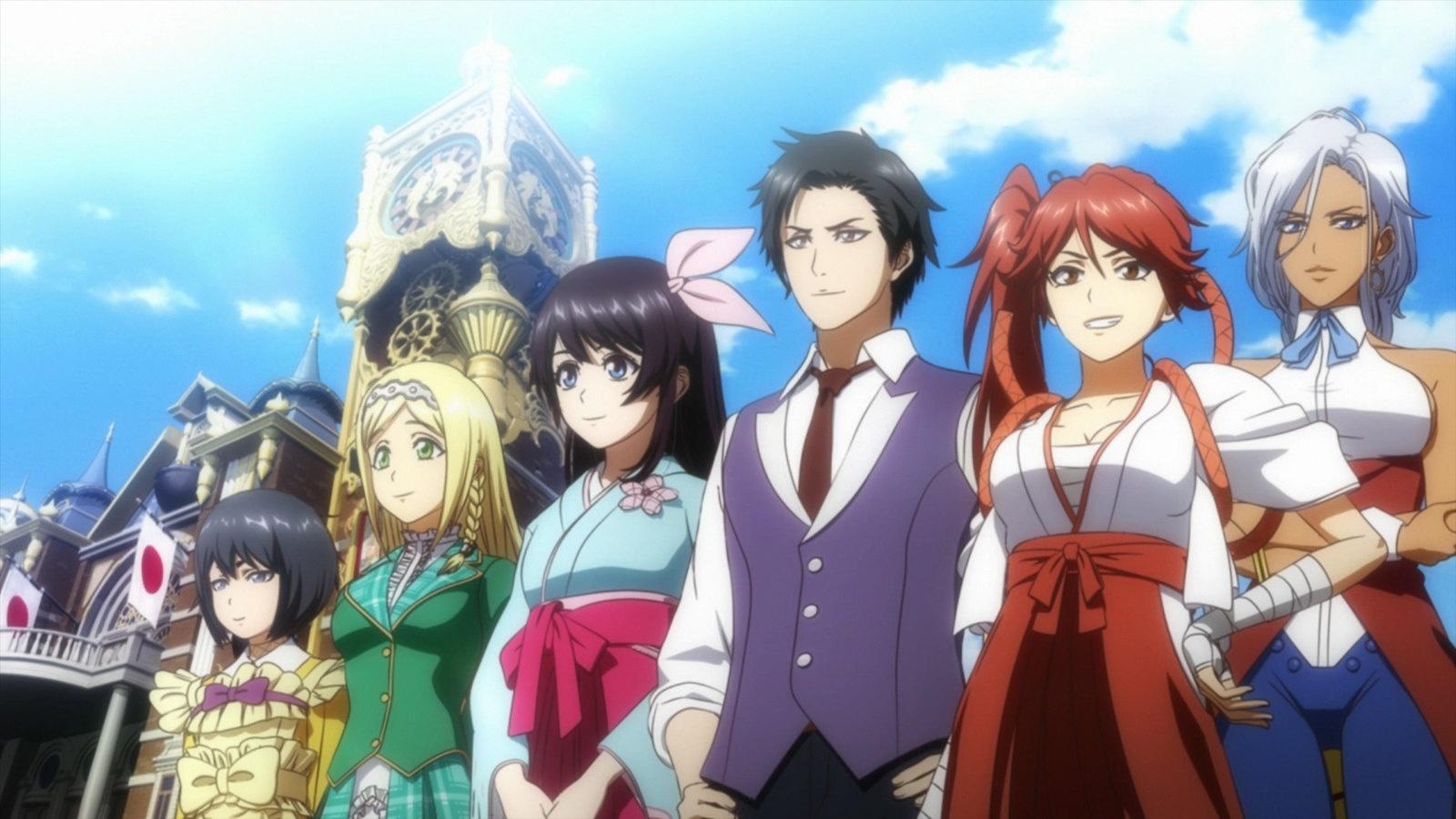 Тактическая ролёвка Sakura Wars выйдет на Западе в апреле