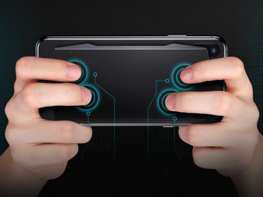 MUJA — игровой тачпад для смартфона