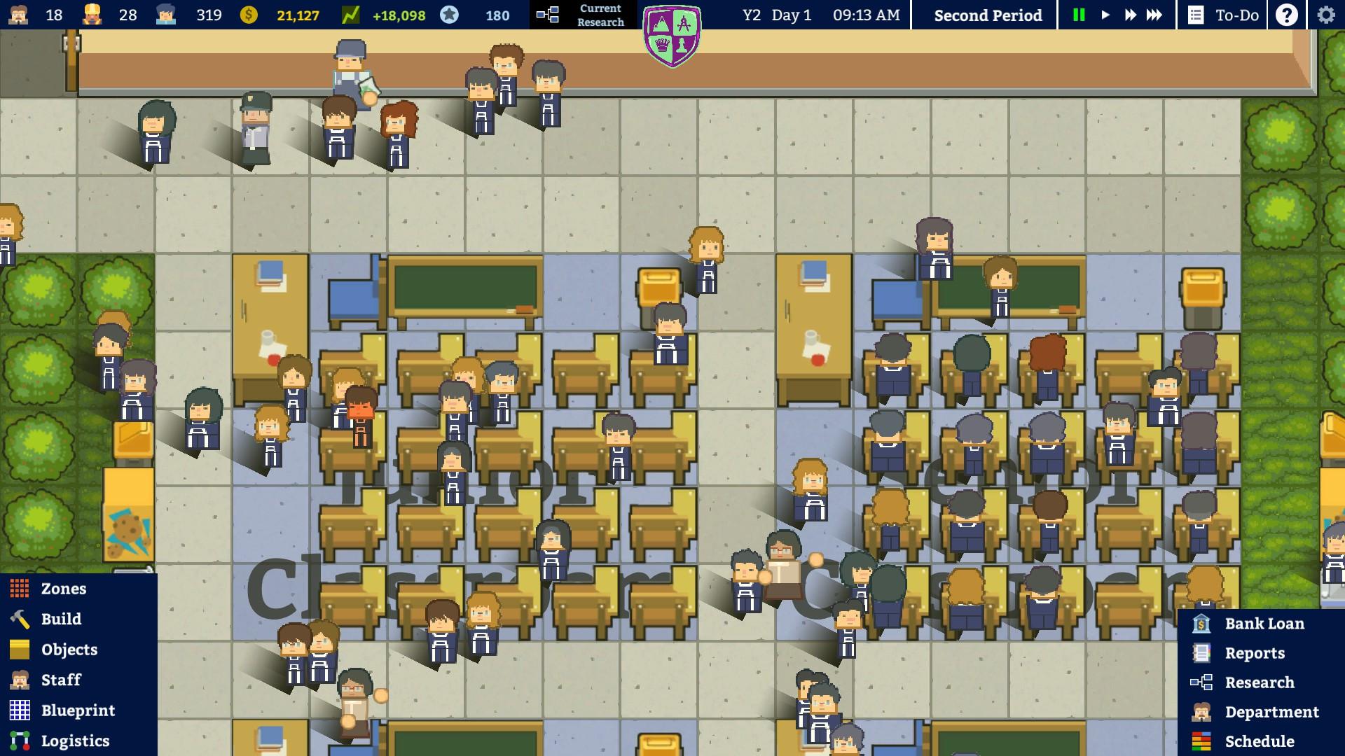 Academia: School Simulator выходит из раннего доступа в январе