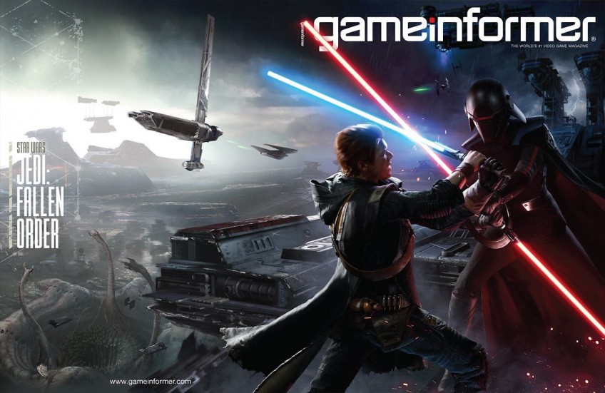 Star Wars Jedi: Fallen Order стала главной темой свежего Game Informer