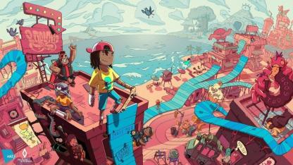 В рамках Summer of Gaming показали новый трейлер OlliOlli World