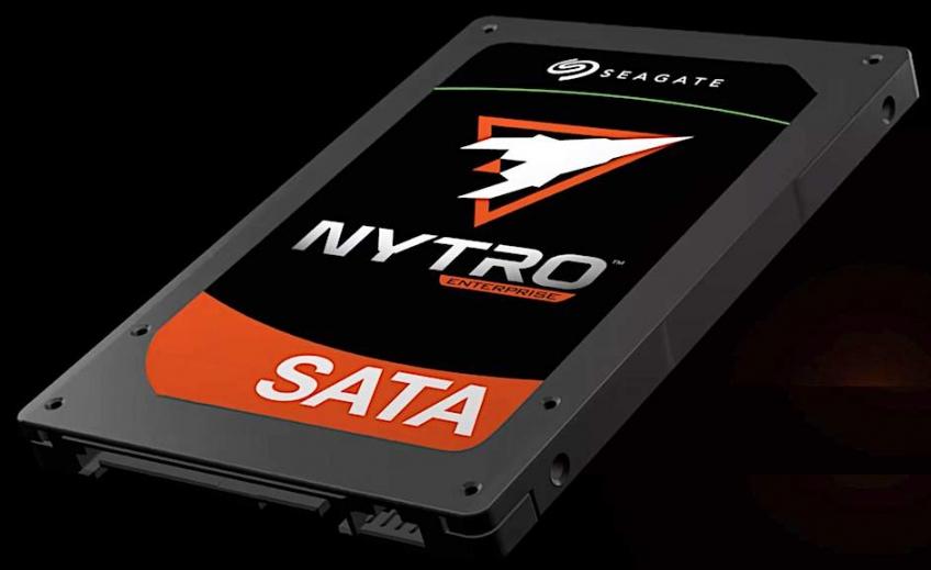 Объёмы SSD Seagate Nytro 1000 подбираются к4 ТБ
